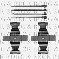 BBK1482 BORG & BECK BRAKE PAD FITITNG KIT fits Mercedes C Class W203 00-