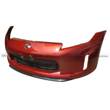 ACE Front Bumper Lip Protect For Nissan 370z z34 Late model TK-Stle Carbon Fiber