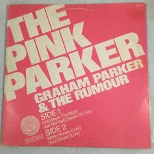 "Graham Parker & The Rumour The Pink Parker 12"" EP 1978 Australia Coloured Vinyl"