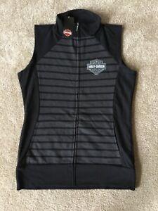 Harley Davidson sleeveless sweatshirt nwt women's medium