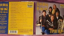 EMPIRE BRASS - CLASS BRASS ON THE EDGE. CD TELARC