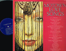 MOTOWN LOVE SONGS LP Diana Ross JACKSON 5 Gladys Knight 1982 UK TMS3509 A2/B1 ex