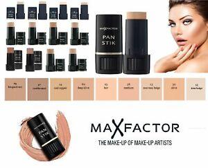 Max Factor Pan Stick Stik Foundation - CHOOSE SHADES - ALL SHADES