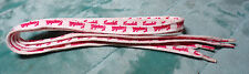"""CAMPBELL'S SOUP ~ SHOELACES ~ SHOE LACES ~ 34"""" ~ RED & WHITE"""