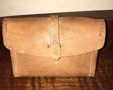 Vintage 1943 E.K. Ww2 BAR Ammo Pouch Leather Box Case For Parts Original