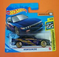 Nissan Silvia (S13) Hot Wheels 2020 Caja P Hw speed Graphics 7/10 Mattel
