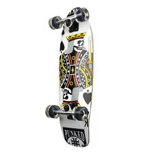 King of Spades Graphic Complete Longboard Mini Cruiser