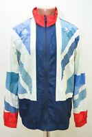 GREAT BRITAIN 2012 OLYMPIC FOOTBALL TRAINING JACKET JERSEY ADIDAS SIZE S ADULT