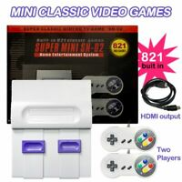 SNES Classic Mini Edition SUPER Console TV Game Player Built-in 821 Games