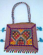 Tribal Banjara Embroidered  Indian Handmade Gypsy Boho Tibetan Bag T1