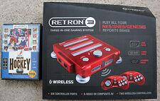 NEW Hyperkin Retron 3 Video Game console for NES/SNES/GENESIS  & NHLPA '93