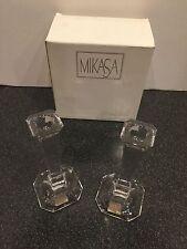 NIB Mikasa Made in Austria Hyde Park Candlesticks