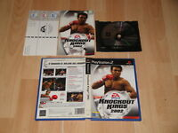 KNOCKOUT KINGS 2002 DE EA SPORTS PARA LA SONY PLAY STATION 2 PS2 EN BUEN ESTADO