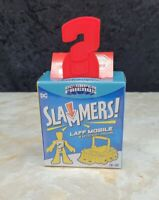 Fisher Price DC Super Friends Slammers Laff Mobile & Mystery Figure NEW