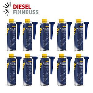 10x 300 ml MANNOL Einspritzdüsen Reiniger Injector Cleaner Kraftstoffadditiv