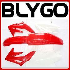 RED Plastics Guard Fairing Fender Kit CRF250 250cc Mx PIT PRO Trail Dirt Bike