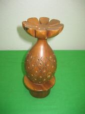 Wood Pineapple Lolly or Cake Pops Holder Hand Made 7.5""