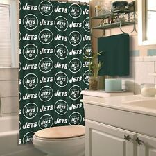 NFL Fabric Shower Curtain, New York Jets, NEW