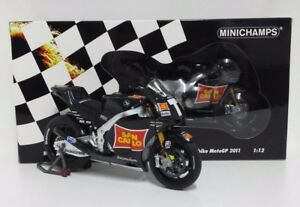Minichamps 1/12 marco simoncelli Modèle Moto Gp Honda RC212V Test Bike 2011