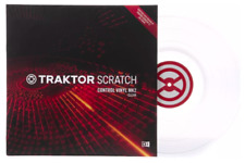 "CLEAR Traktor Scratch 12"" Control Vinyl MK2 (Native Instruments) - Single"