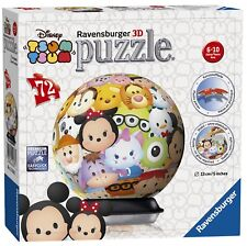 Disney Tsum 72 Piece '5 Inch 3d' Ball Jigsaw Puzzle Game Brand New Gift
