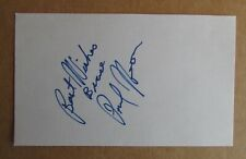 Paul Heaver Signed Autograph