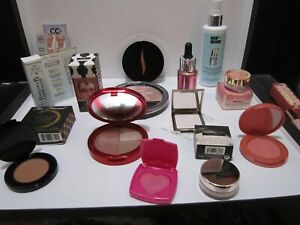 LOT OF 14 BLUSH+HIGHLIGHTER+BRONZER ITEMS~FULL SIZE+DELUXE SIZE~ALL NEW+UNTESTED