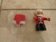 LEGO DUPLO Santa Claus Xmas ChristmasFigure Minifig with Cloth Hat   + FREE GIFT