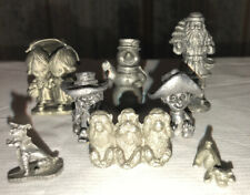 Lot Of 7 Pewter Figurines