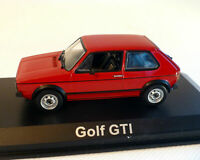 NOREV 188472 VW GOLF 1 GTI diecast model car red body 1976 1:18th scale