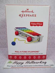 Hallmark 2017 Fisher-Price Pull-A-Tune Xylophone Ornament