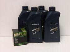 Ölwechselset BMW s1000 r rr xr à partir de Bj 10: huile advantec ultimate 5w-40 + filtre