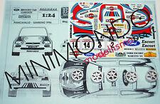TRANSKIT FORD ESCORT COSWORTH MARTINI SANREMO PIANCAVALLO 96 1/24 RACING 43 TK11