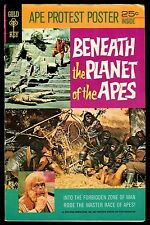 Beneath the Planet of the Apes Gold Key 1970 Movie sequel adaptation Comic PotA