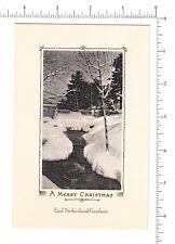 4573 Earl Sutherland Gardner, c. 1935 photo image Christmas greeting card