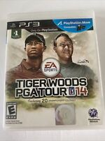 Tiger Woods PGA Tour 14 PS3 (Sony PlayStation 3, 2013) Complete W/ Manual