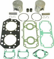Kawasaki 550 SX Jet Ski Top End Rebuild Kit Pistons Gaskets Bearings 1989 1990