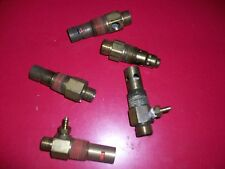 Lot of 5 check valves