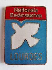 Insigne Religieux Badge NATIONALE BEDEVAARTEN NEDERLAND CATHOLIC LOURDES N°1