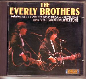 CD ALBUM THE EVERLY BROTHERS THE HITS 1.99 CENT START