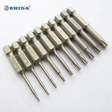Torx Screwdriver Bit set T3 T4 T5 T6 T8 T10 T15 T20 T25 T27(manufacturer) 1 SET