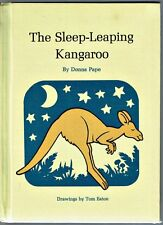 New listing Vintage Children's Book ~ The Sleep-Leaping Kangaroo ~ Donna Pape 1973 Hardcover