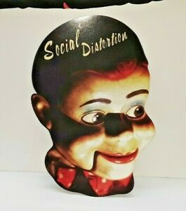 RARE Social Distortion 1996 LARGE Cardboard Promo White Light, Heat, Trash Music