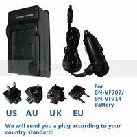 Battery Charger for JVC BN-VF707 BN-VF707U Everio GZ-MG20U GZ-MG21U Camcorder
