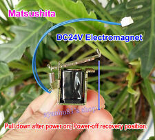 12V DC Push Pull Type Rod Solenoid Electromagnet DC Micro Solenoid Stroke 4mm