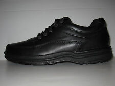 ROCKPORT WORLD TOUR BLACK LEATHER COMFORT WALKING SHOES MEN WIDE 10 / 9.5 / 44