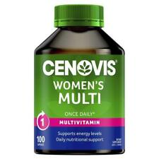 Cenovis Once Daily Women's Multi Vitamins & Minerals 100 Capsules