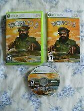 MINT / BRAND NEW condition Tropico 3 - Xbox 360 WN30