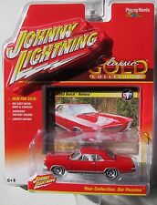 JOHNNY LIGHTNING 2016 CLASSIC GOLD 1965 BUICK RIVIERA #1 RED B LIMITED EDITION