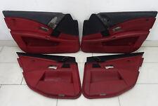 BMW 5er E60 M5 Door Panelling Door Full Leather Merino Indianapolis Red